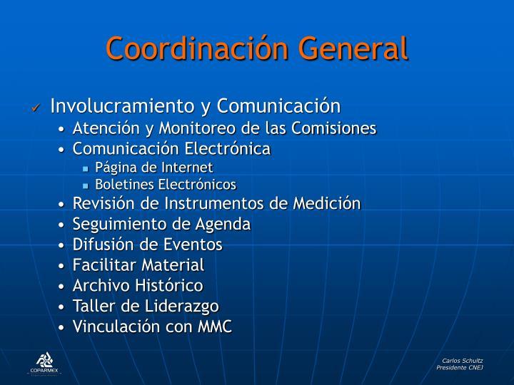 Coordinación General