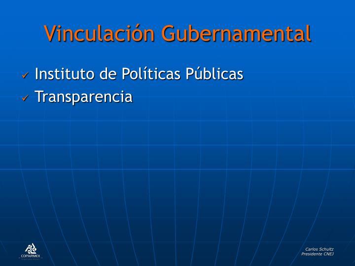 Vinculación Gubernamental