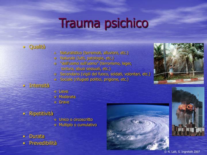 Trauma psichico