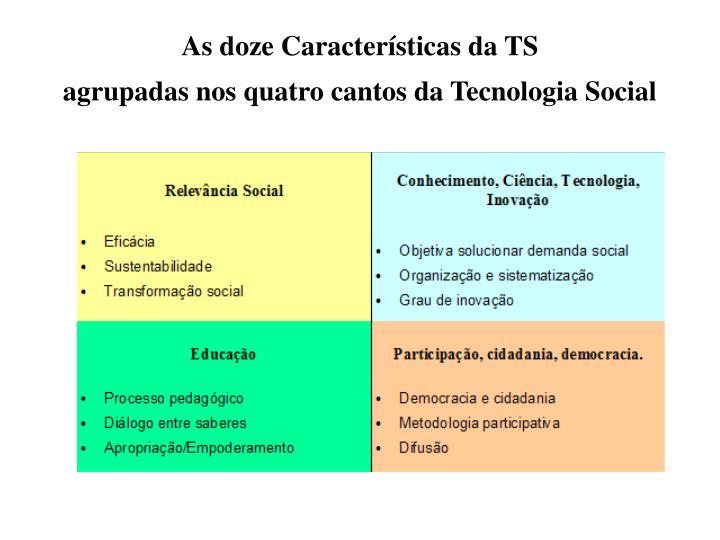 As doze Características da TS