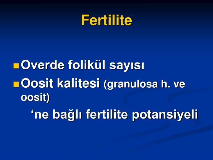 Fertilite