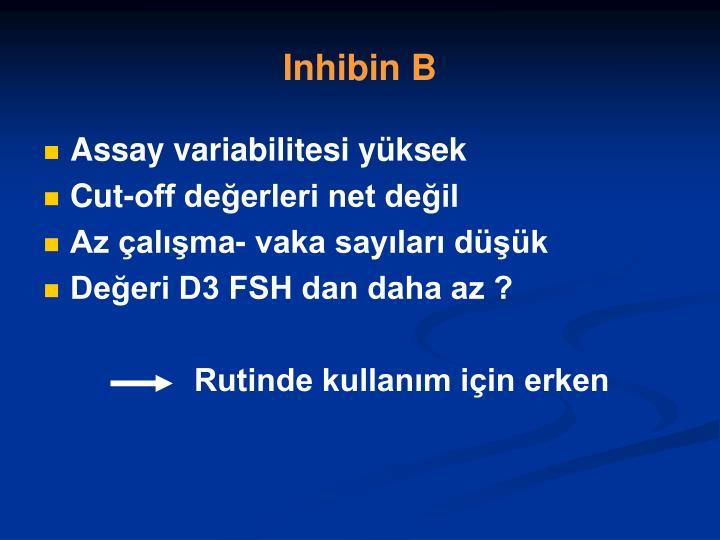 Inhibin B