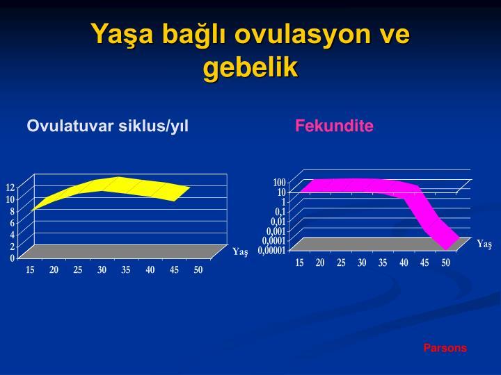 Ovulatuvar siklus/yıl
