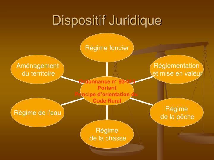 Dispositif Juridique