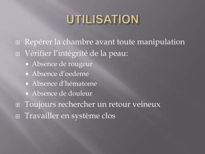 Ppt chambre implantable powerpoint presentation id 952191 - Infection chambre implantable ...