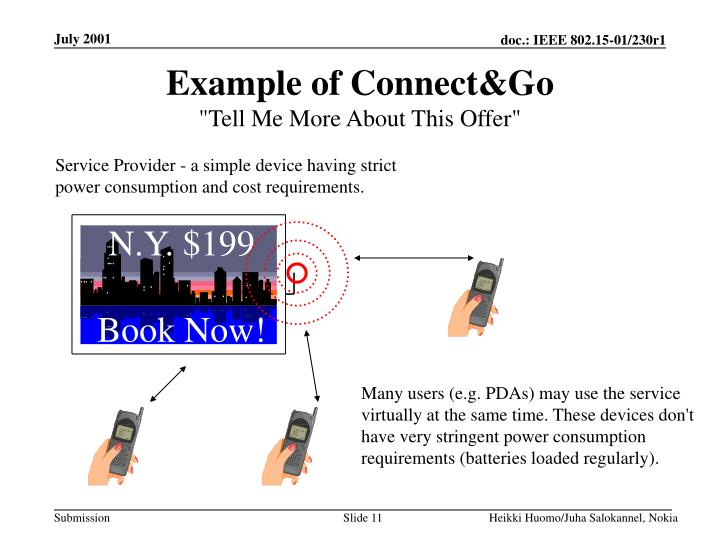 Example of Connect&Go