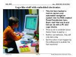 lego like stuff with embedded electronics