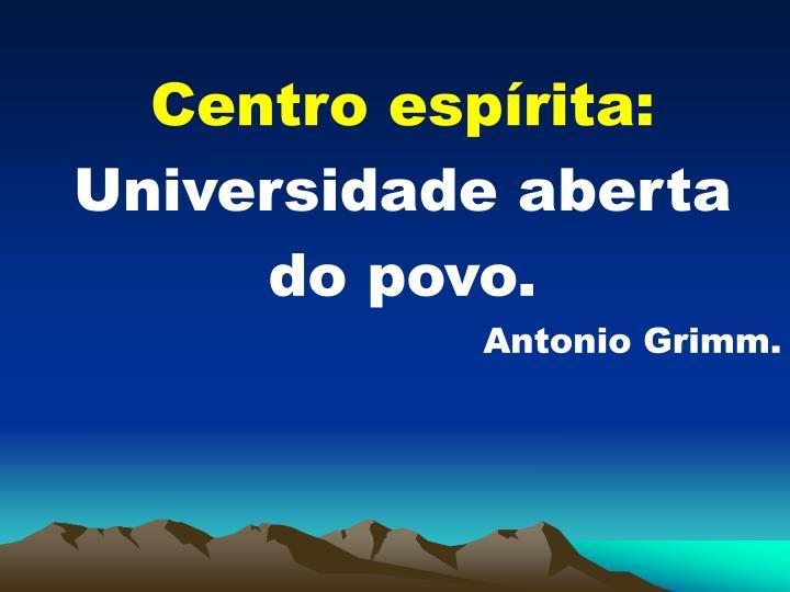 Centro esprita: