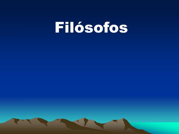 Filsofos