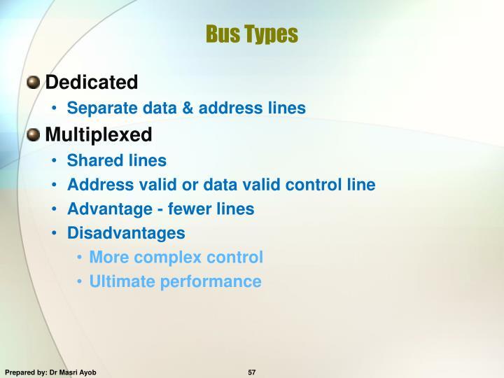 Bus Types