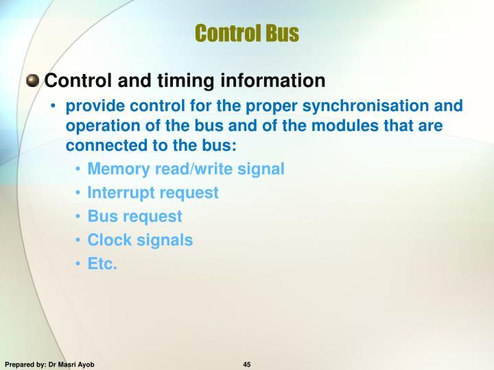 Control Bus