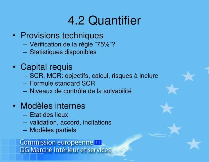 4.2 Quantifier
