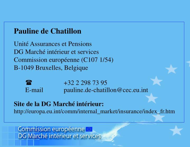 Pauline de Chatillon