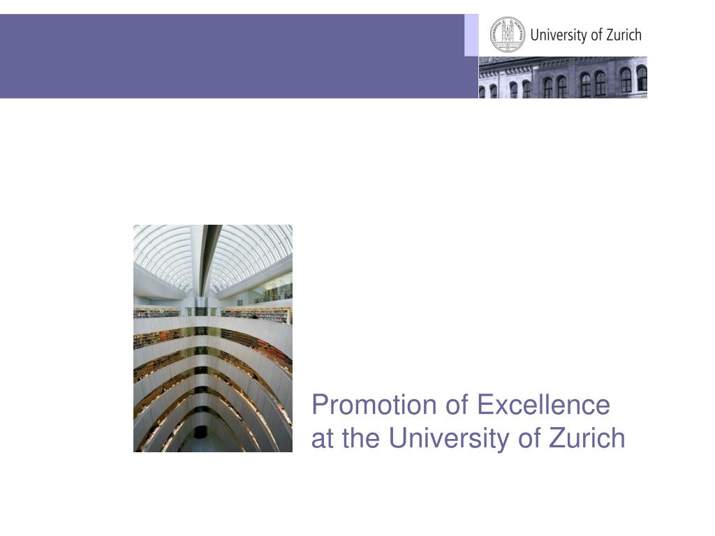 Promotion of Excellence