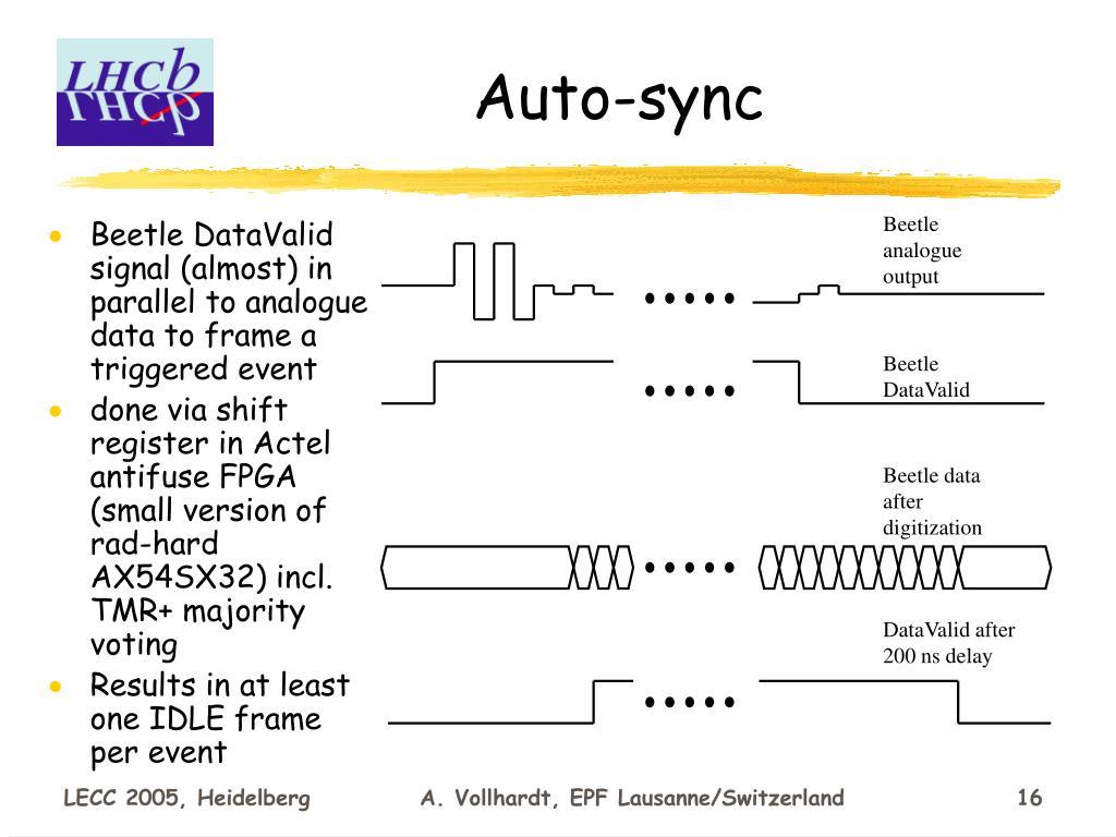 Auto-sync