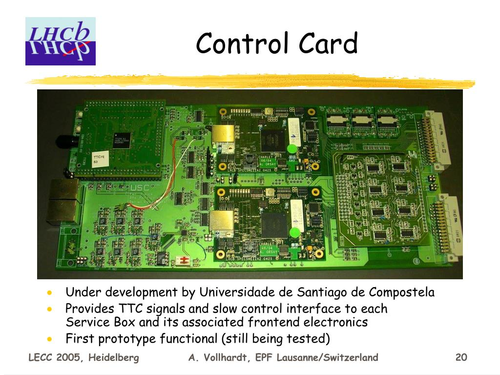 Control Card