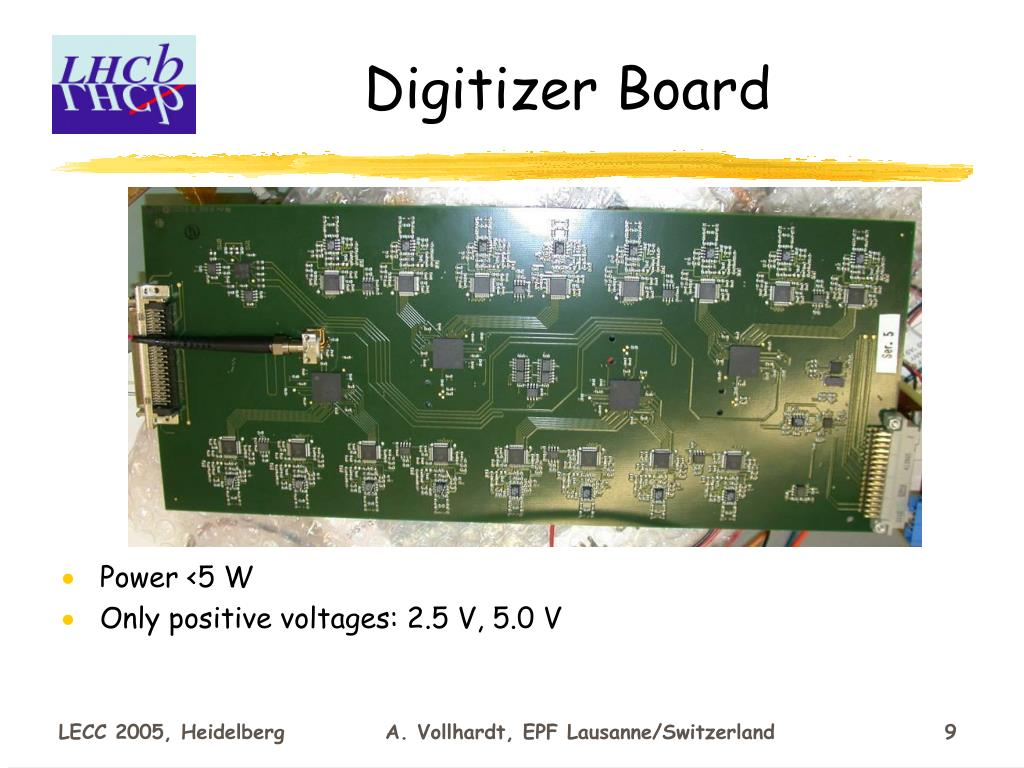Digitizer Board