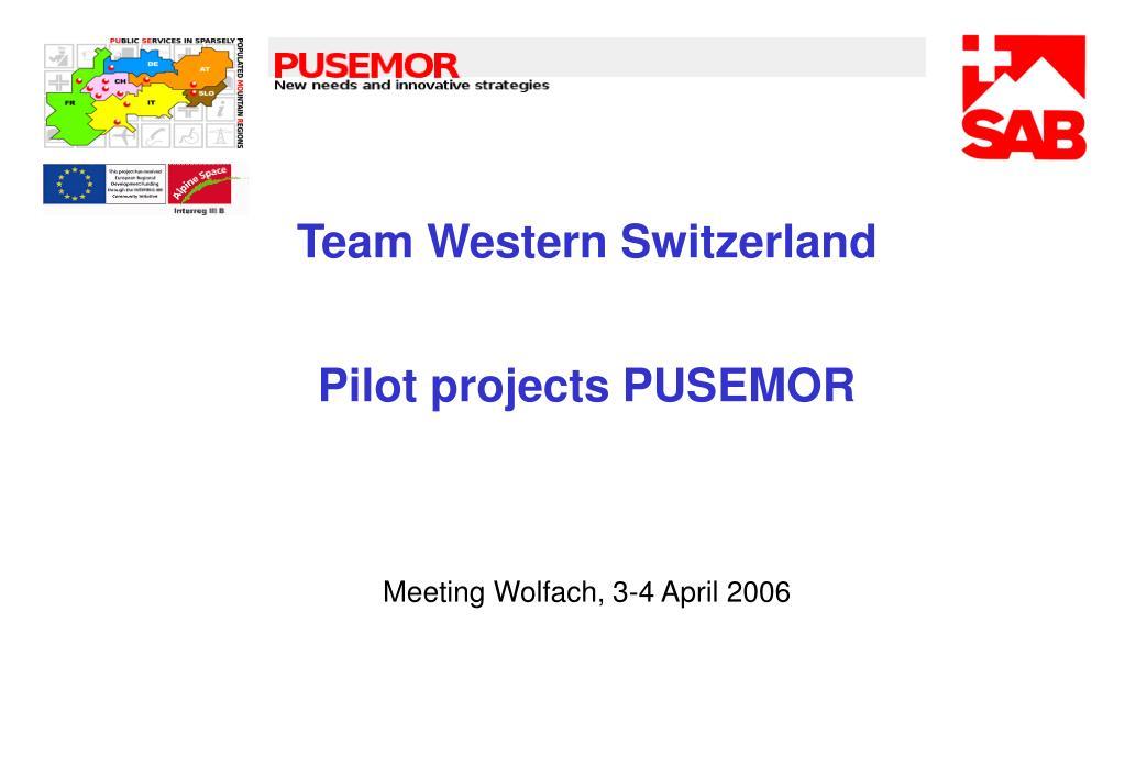 Team Western Switzerland
