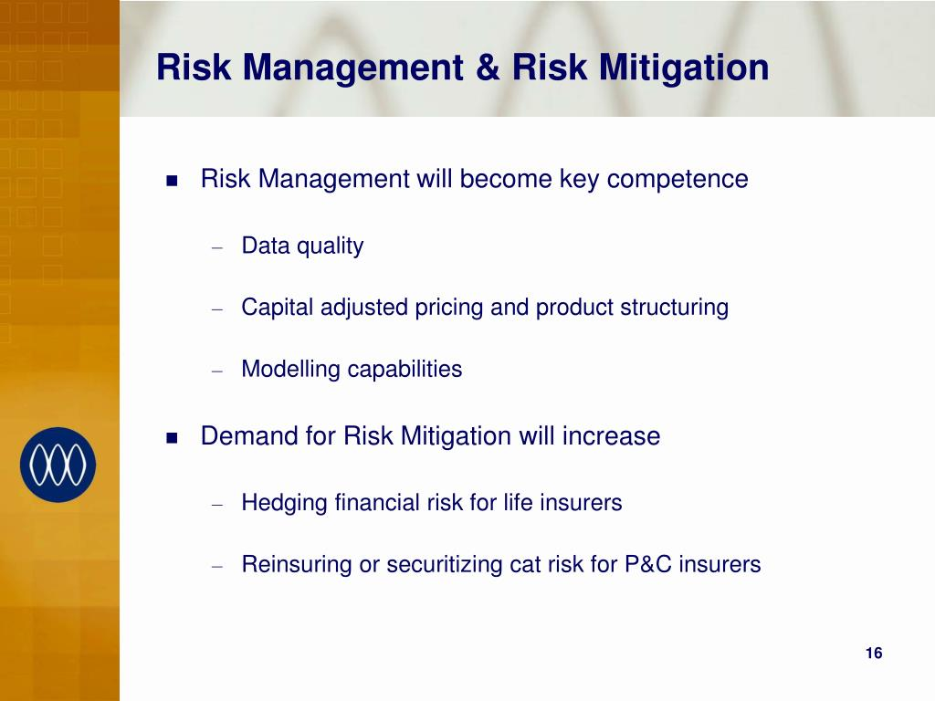 Risk Management & Risk Mitigation