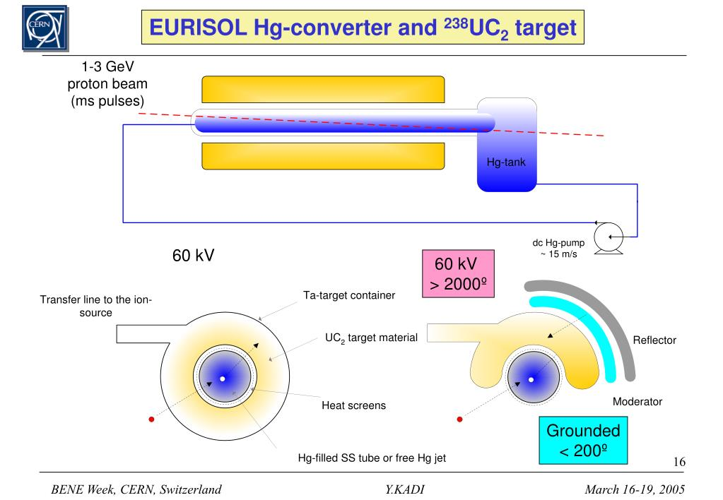 EURISOL Hg-converter and