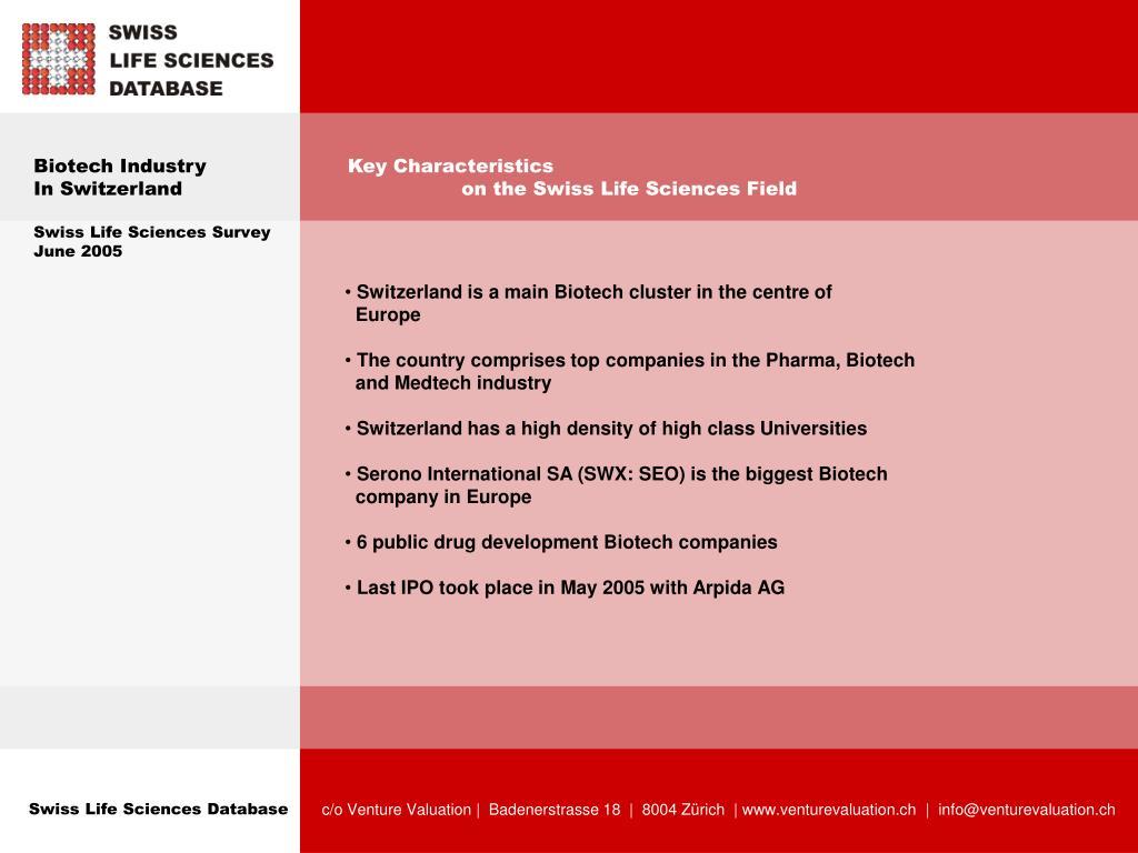 Biotech Industry