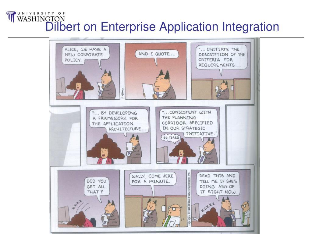 Dilbert on Enterprise Application Integration
