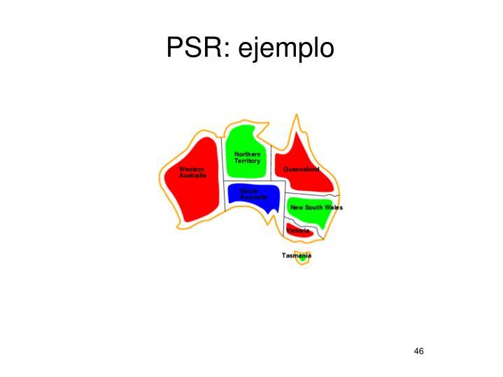 PSR: ejemplo