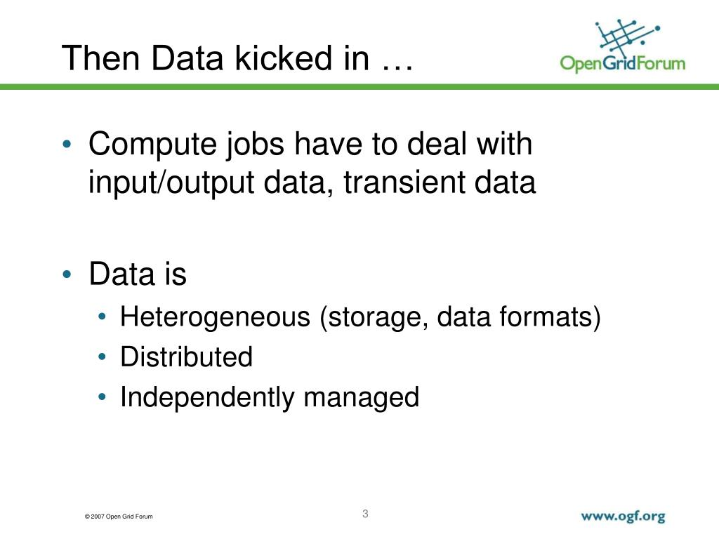 Then Data kicked in …