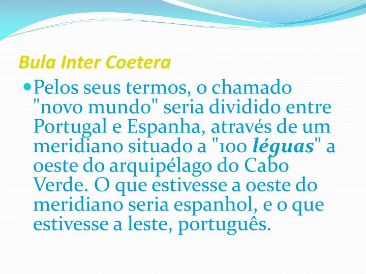 Bula Inter Coetera