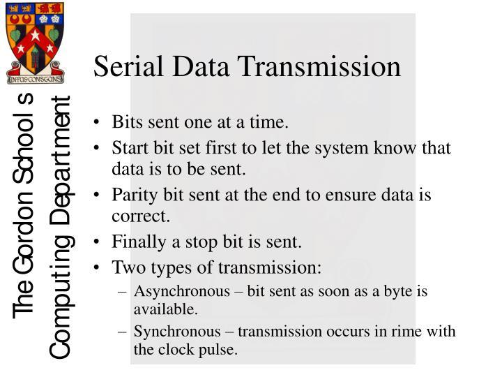 Serial Data Transmission