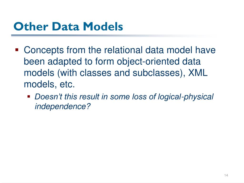 Other Data Models
