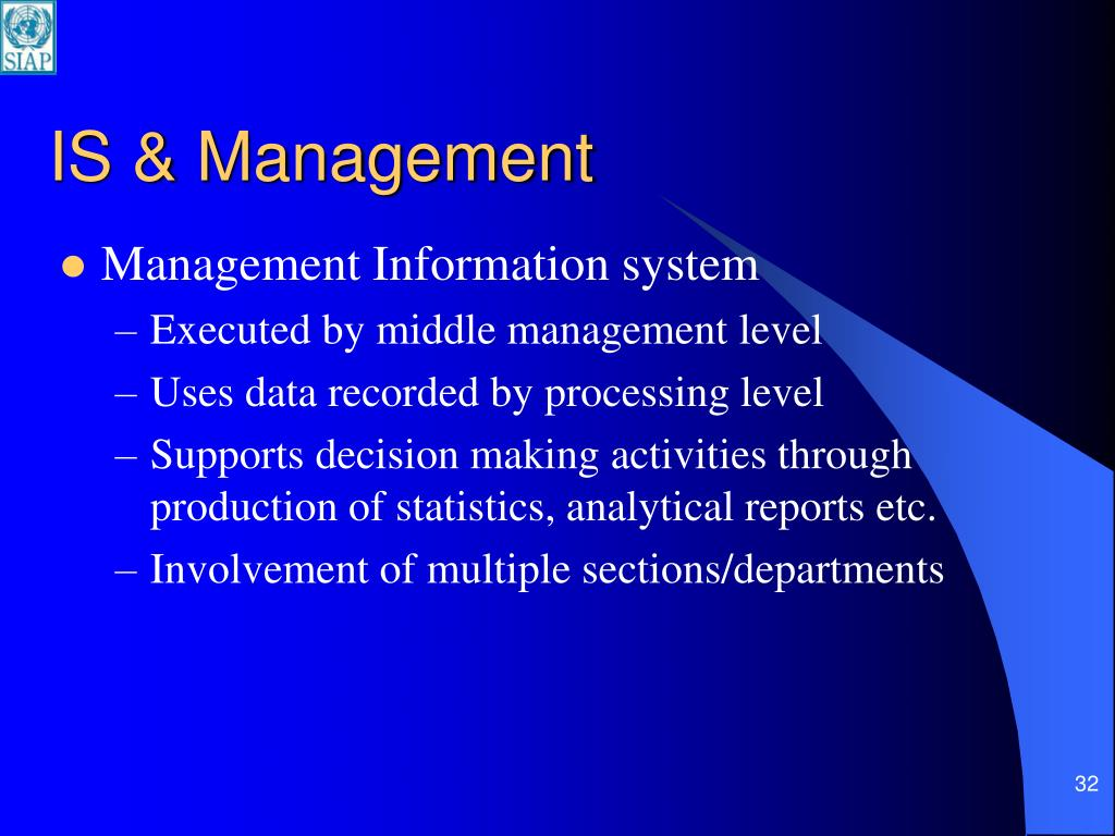 IS & Management
