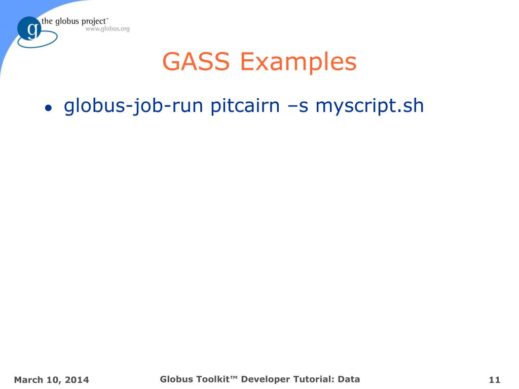 GASS Examples