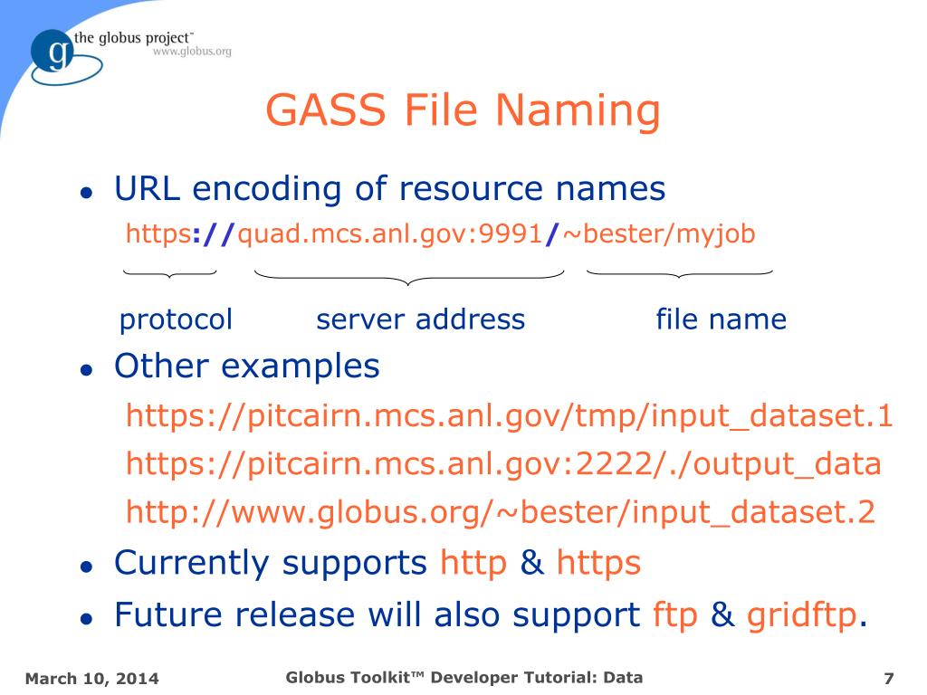 GASS File Naming