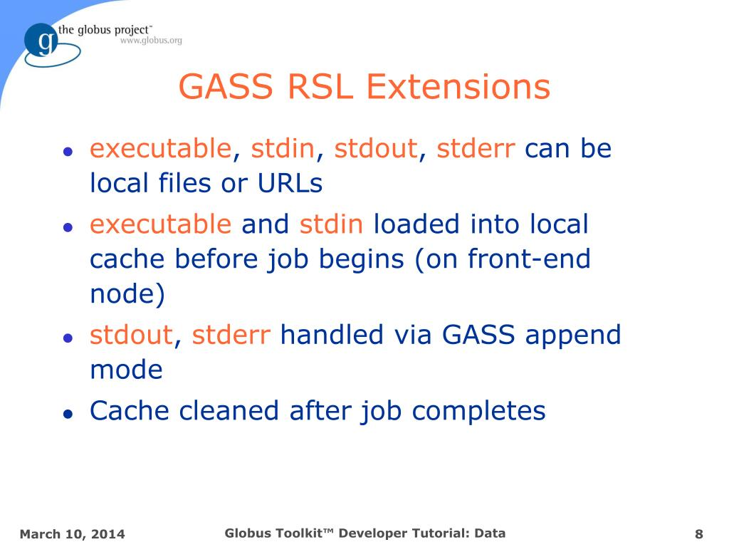 GASS RSL Extensions