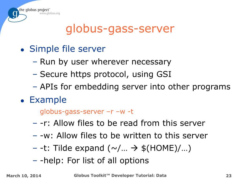 globus-gass-server