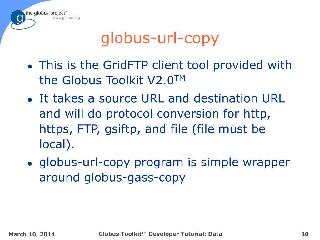 globus-url-copy
