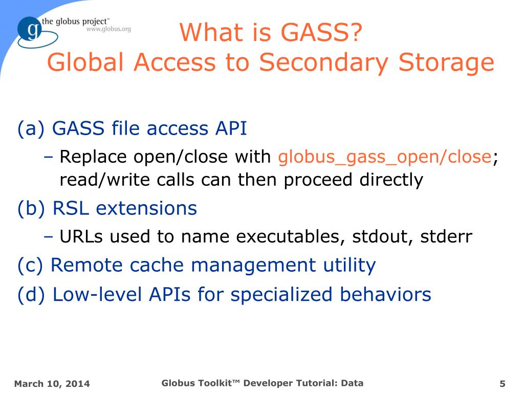 What is GASS?