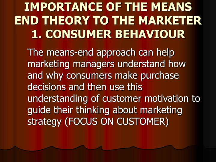 the importance of understanding consumer behaviour Understanding trends are important because: » they allow us to see things from new perspectives and help us keep the visitor at the heart of what we do » they help us anticipate future consumer behaviour » they help us futureproof our business strategy to negotiate around future threats and opportunities.