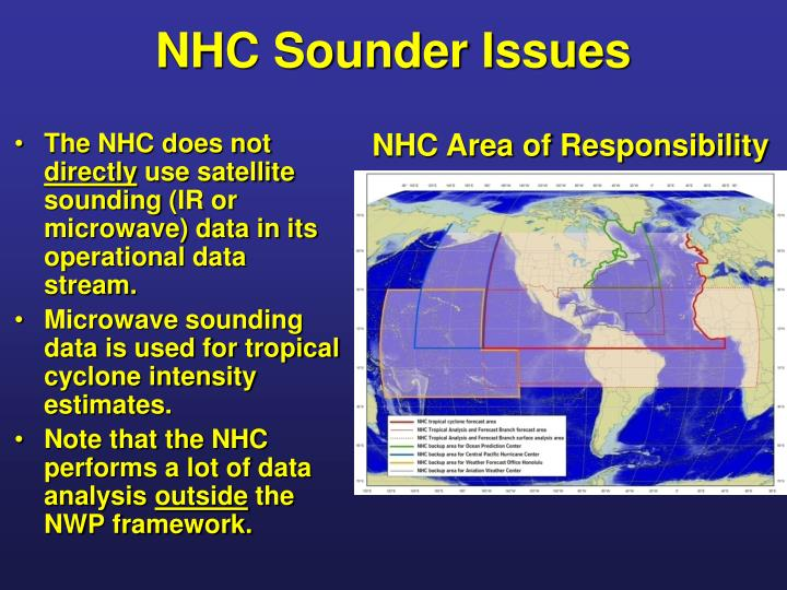 Nhc sounder issues