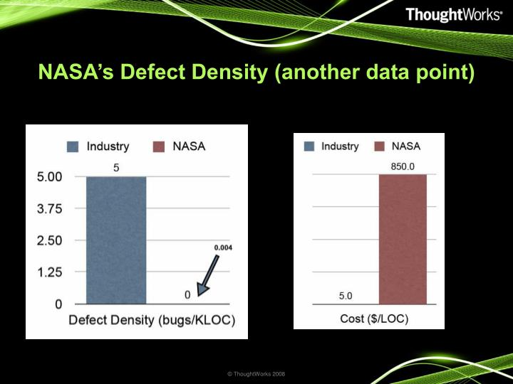 NASA's Defect Density (another data point)