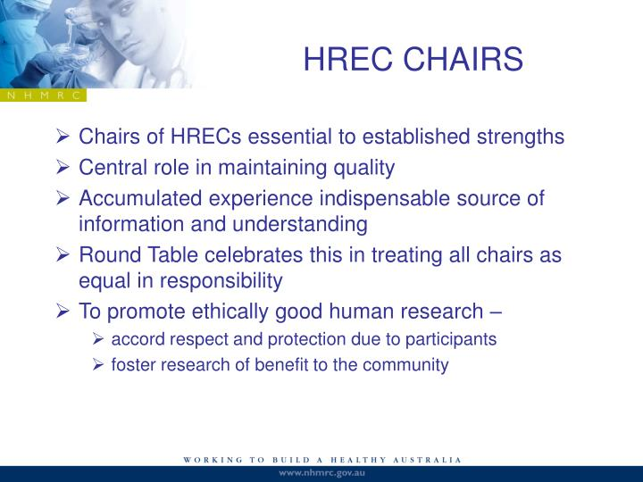 HREC CHAIRS