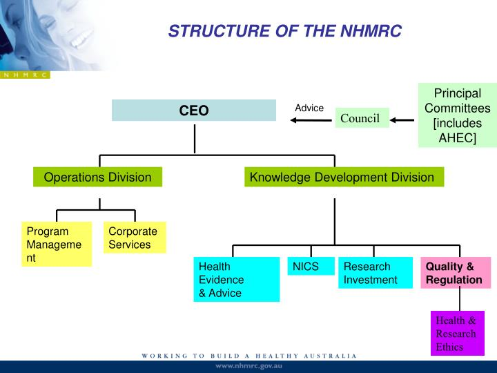 STRUCTURE OF THE NHMRC