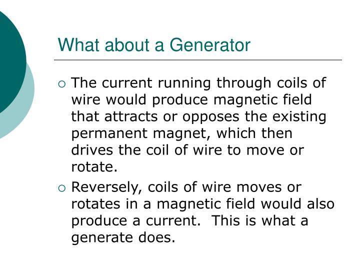 What about a Generator