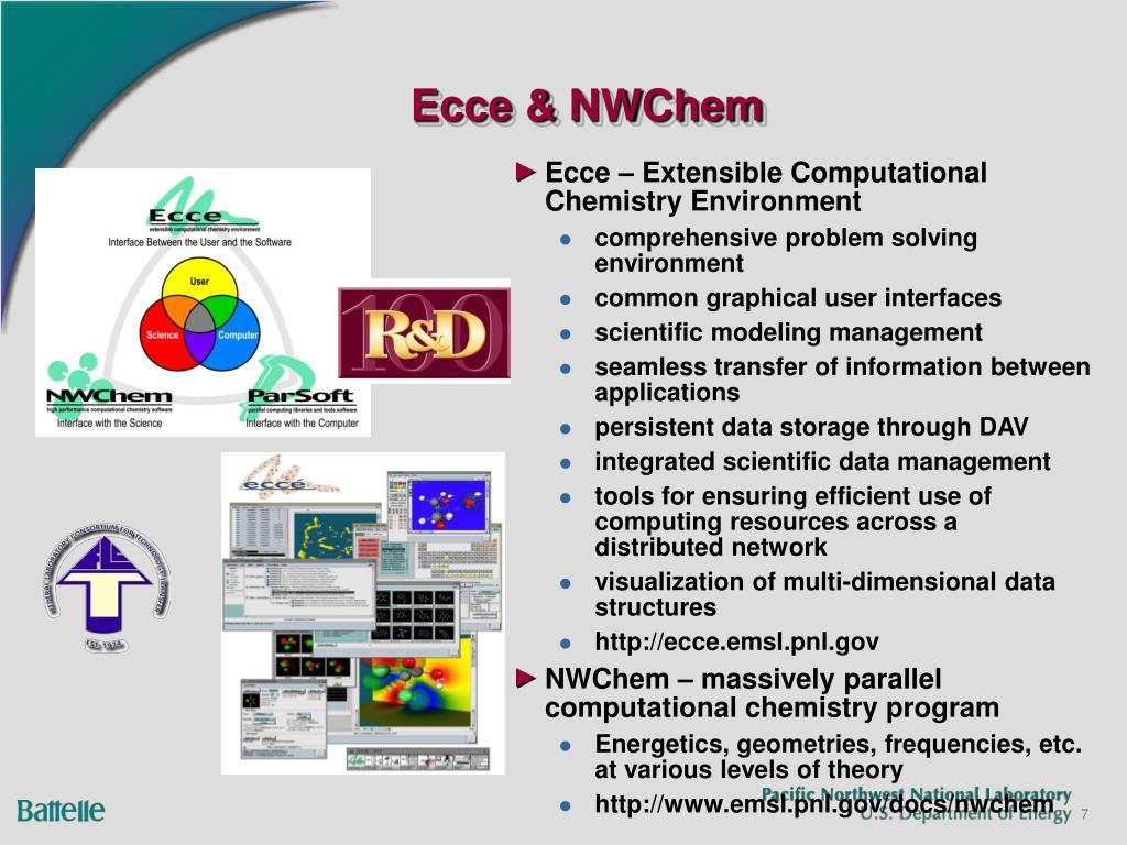 Ecce – Extensible Computational Chemistry Environment