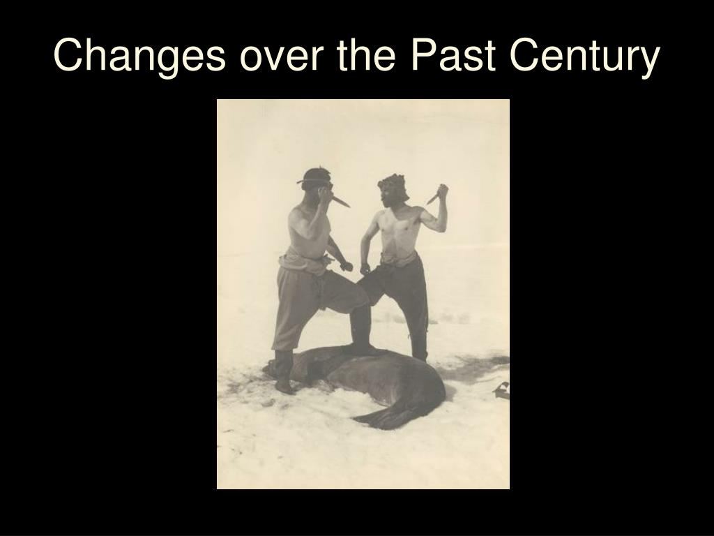Changes over the Past Century