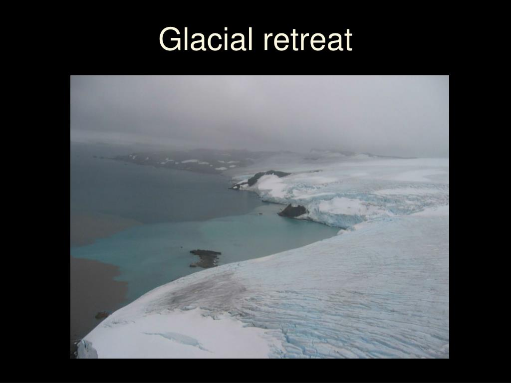 Glacial retreat