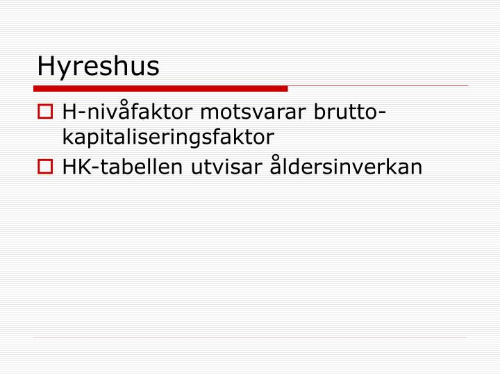 Hyreshus