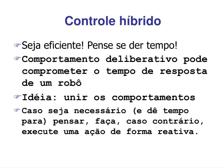 Controle híbrido
