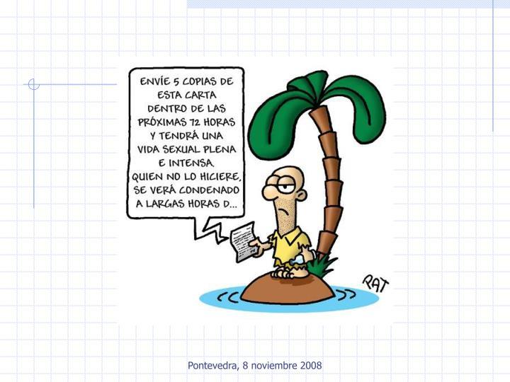 Pontevedra, 8 noviembre 2008